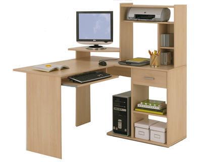 bureau d angle fly maison design. Black Bedroom Furniture Sets. Home Design Ideas