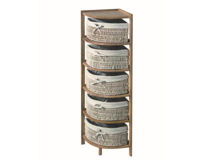rangement d 39 angle 20 accessoires pour la salle de bains journal des femmes. Black Bedroom Furniture Sets. Home Design Ideas