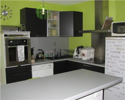 d co cuisine vert anis et chocolat. Black Bedroom Furniture Sets. Home Design Ideas