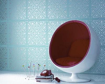 inspiration art d co 20 papiers peints journal des femmes. Black Bedroom Furniture Sets. Home Design Ideas