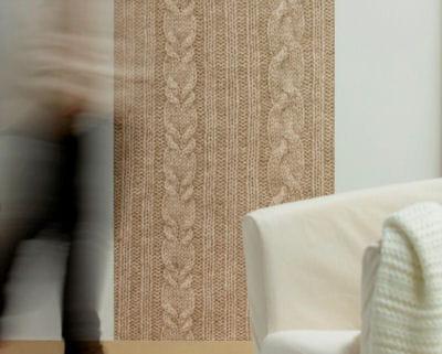 du coton sur les murs 20 papiers peints journal des femmes. Black Bedroom Furniture Sets. Home Design Ideas