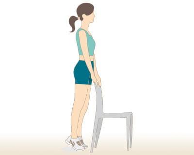 demi pointes 10 exercices pour s 39 affiner les jambes journal des femmes. Black Bedroom Furniture Sets. Home Design Ideas