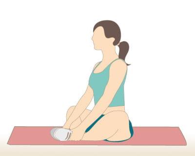 Etirement en tailleur 10 exercices pour s 39 affiner les for Exercice pour muscler interieur cuisse