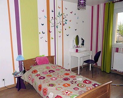 10 chambres de filles tr s d co for Decoration de chambre de fille