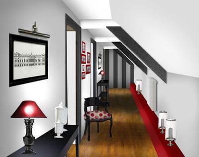 comment mettre en valeur un couloir journal des femmes. Black Bedroom Furniture Sets. Home Design Ideas