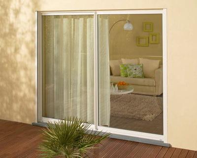 En toute simplicit 10 baies vitr es pour flirter avec l - Baies vitrees coulissantes leroy merlin ...