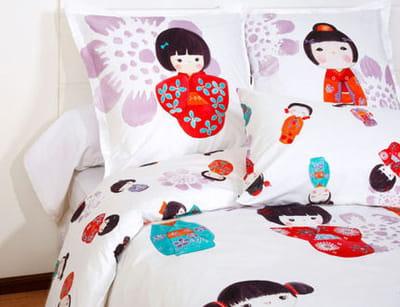 jusqu 39 au bout des draps tendance japonaise journal des femmes. Black Bedroom Furniture Sets. Home Design Ideas