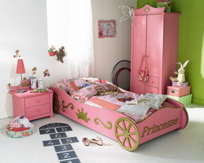 ch teau de princesse des chambres d 39 enfant pleines de vie journal des femmes. Black Bedroom Furniture Sets. Home Design Ideas