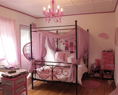 une chambre de princesse 15 chambres d 39 enfant de lectrices journal des femmes. Black Bedroom Furniture Sets. Home Design Ideas