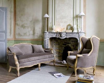 Esprit boudoir les canap s tiennent salon journal des for Canape maison du monde