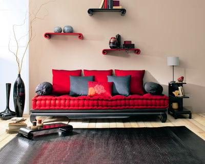 coloris exotique les canap s tiennent salon journal. Black Bedroom Furniture Sets. Home Design Ideas