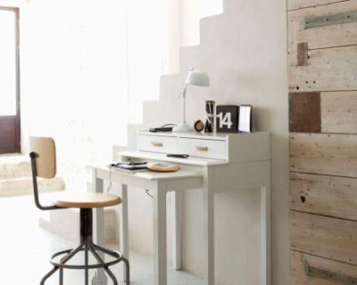 bureau coulissant les bureaux font leur rentr e journal des femmes. Black Bedroom Furniture Sets. Home Design Ideas