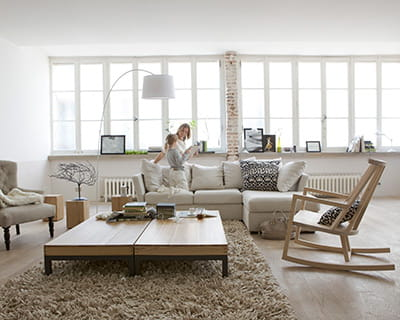 ambiance scandinave 15 ambiances blanches pur es journal des femmes. Black Bedroom Furniture Sets. Home Design Ideas