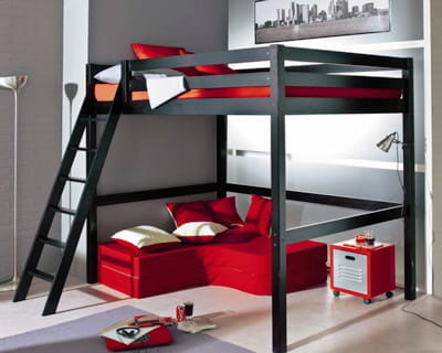 mezzanine gain de place assur journal des femmes. Black Bedroom Furniture Sets. Home Design Ideas