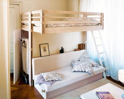 comme suspendue mezzanine gain de place assur journal des femmes. Black Bedroom Furniture Sets. Home Design Ideas