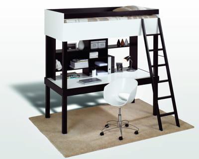 combinaison gagnante mezzanine gain de place assur journal des femmes. Black Bedroom Furniture Sets. Home Design Ideas