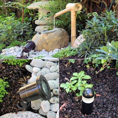 L'éclairage pour mettre en valeur : Jardin japonais : un ...