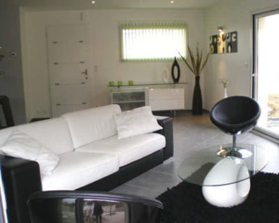 ambiance zen et styl pur 10 pi ces en noir blanc. Black Bedroom Furniture Sets. Home Design Ideas