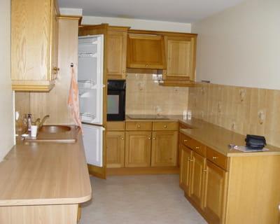 Une cuisine en longueur plus pratique avant apr s 10 for Photos cuisines relookees