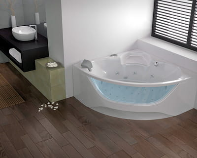 baignoire balno 'tendance visio' de kinedo 