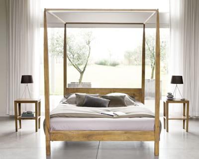 Nature et zen endormez vous dans un lit de princesse - Lit baldaquin maison du monde ...