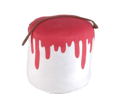 pouf 'pot de peinture' d'amadeus 