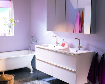 Petit prix et si on changeait de salle de bains for Mobilier salle de bain ikea