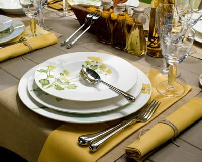 Herbier sauvage les tables prennent un air printanier journal des femmes - Vaisselle villeroy et boch ...