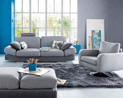 Total gris des salons pour tous les styles journal des for Atlas decoration interieur