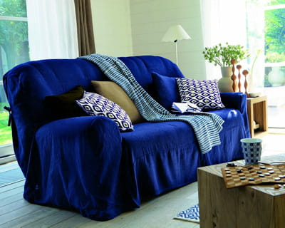 en terre indigo 20 ambiances autour du bleu journal des femmes. Black Bedroom Furniture Sets. Home Design Ideas