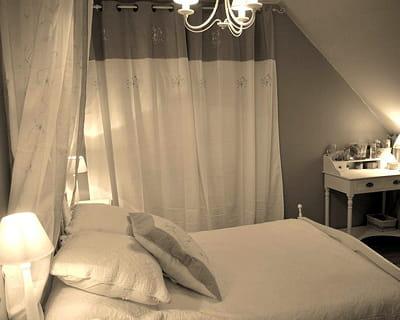 Blanc et lin 10 chambres de lectrices pour tous les styles journal des femmes for Chambre blanc et lin