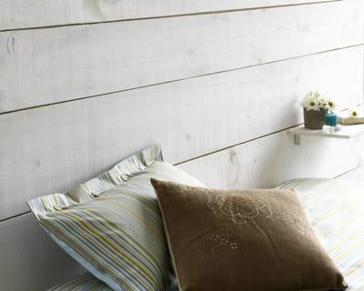Esprit de campagne peinture des murs hauts en couleurs journal des femmes - Liberon badigeon poutres et boiseries ...