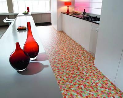 Quel rev tement de sol pour ma cuisine journal des femmes - Sol vinyle pour cuisine ...