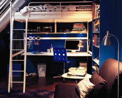 studieux des chambres par es pour la rentr e journal des femmes. Black Bedroom Furniture Sets. Home Design Ideas