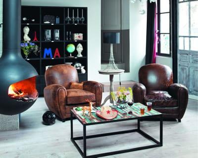esprit industriel. Black Bedroom Furniture Sets. Home Design Ideas