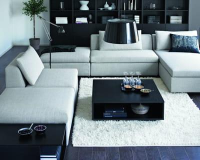 selon ses envies des salons pour tous les styles journal des femmes. Black Bedroom Furniture Sets. Home Design Ideas