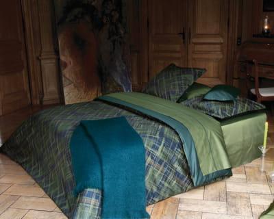 ecossais une chambre dans de beaux draps journal des femmes. Black Bedroom Furniture Sets. Home Design Ideas