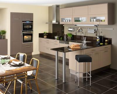couleur caf des cuisines vivre journal des femmes. Black Bedroom Furniture Sets. Home Design Ideas
