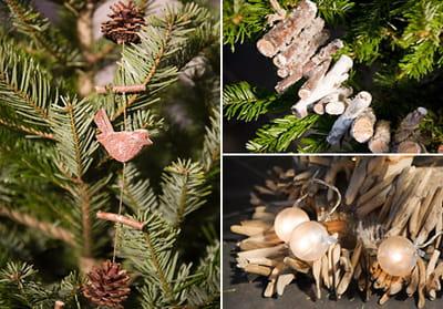 Guirlandes nature no l quatre ambiances pour mon sapin - Guirlande de noel a fabriquer ...