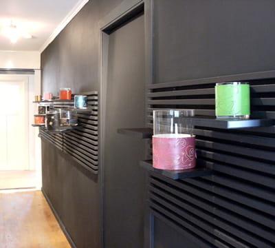 une nouvelle ambiance pour mon couloir journal des femmes. Black Bedroom Furniture Sets. Home Design Ideas