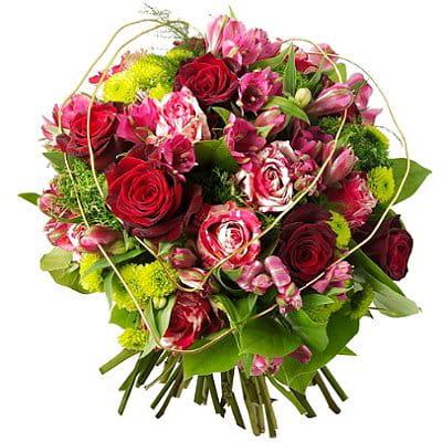 So romantic des bouquets de fleurs pour la saint for Le bouquet nantais