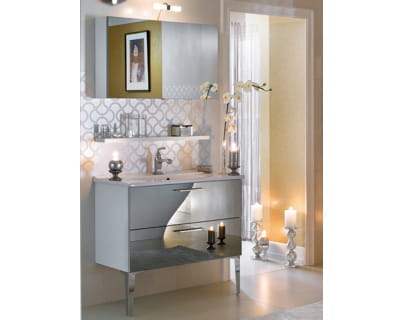 meuble de salle de bains fa ades miroirs de delpha c. Black Bedroom Furniture Sets. Home Design Ideas