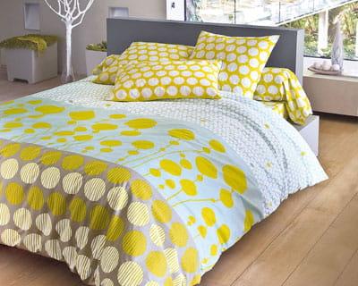 du linge de lit de cr ateur chambre nouveaux draps pour un look printanier journal des femmes. Black Bedroom Furniture Sets. Home Design Ideas
