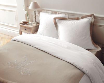 Classique chambre nouveaux draps pour un look - Parure de lit maison du monde ...