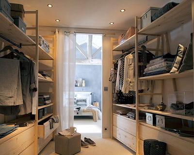 12 id es pour un super dressing. Black Bedroom Furniture Sets. Home Design Ideas