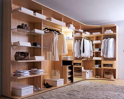 dressing ouvert od a de gautier en noyer. Black Bedroom Furniture Sets. Home Design Ideas