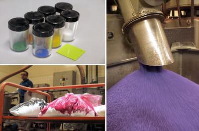 les coloris des produits tupperware sont élaborés à joué-les-tours.