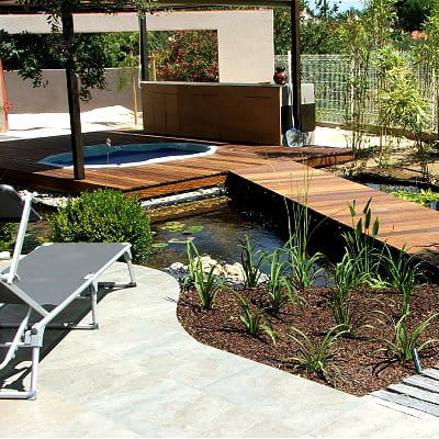 Un spa pour se relaxer am nagement d 39 un jardin zen for Amenagement d un jardin