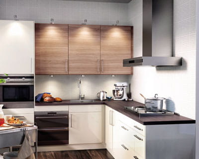 Cuisine moderne cuisine modernes - Porte placard cuisine ikea ...
