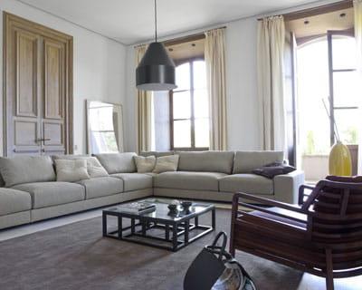 format xxl quoi de neuf pour mon salon journal des femmes. Black Bedroom Furniture Sets. Home Design Ideas